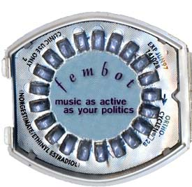 fembot- music as active as your politics